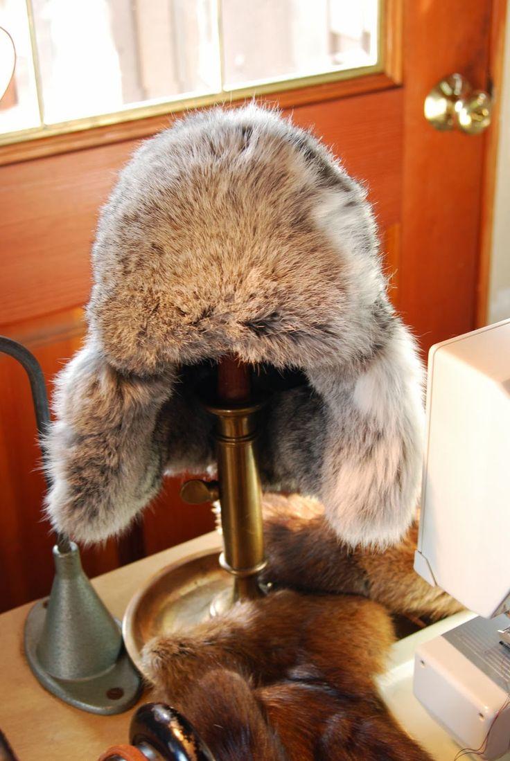 Applegarth Farm: Making a Rabbit Fur Hat