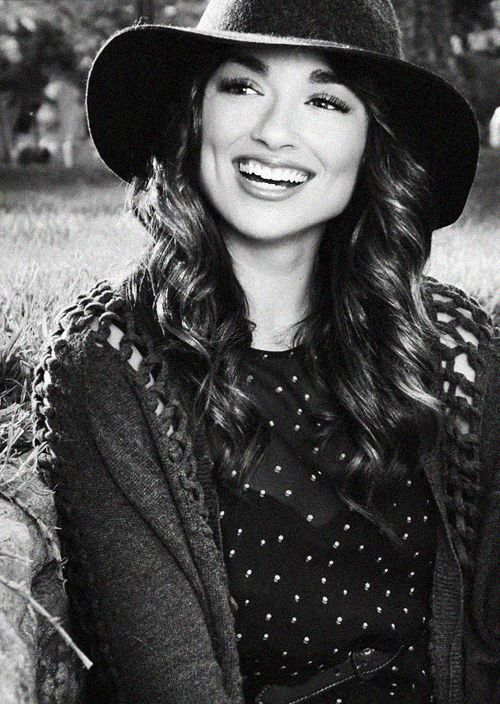 a very beautiful Crystal Reed