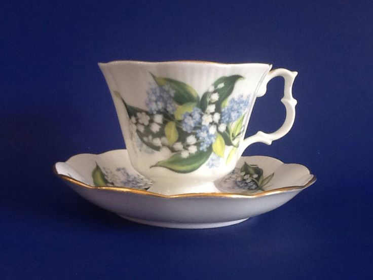 A personal favorite from my Etsy shop https://www.etsy.com/ca/listing/553973755/royal-albert-lily-of-the-valley-and