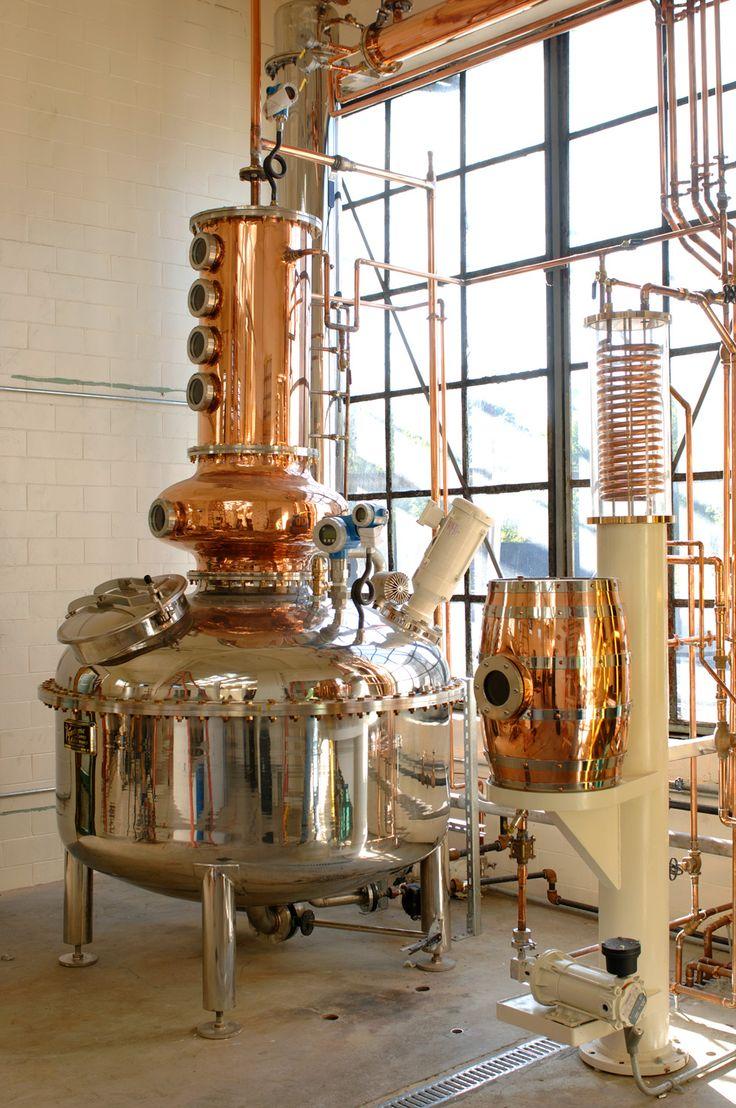 Batch Distillation Systems Whiskey distillery, Pot still