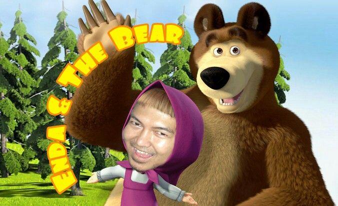 Enda Dollar on Marsha And The Bear