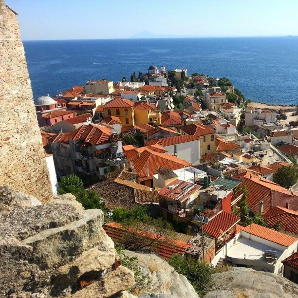 Views over Kavala, Greece