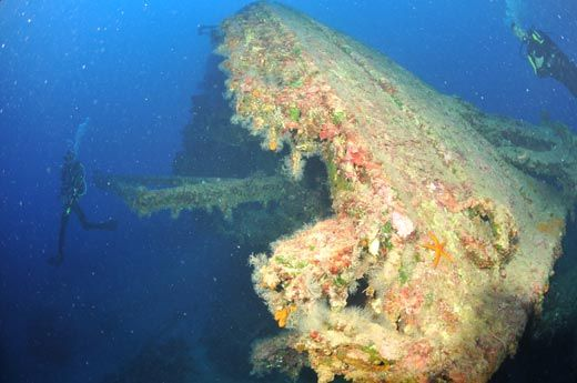 Duchess of York wreck, Kalkan