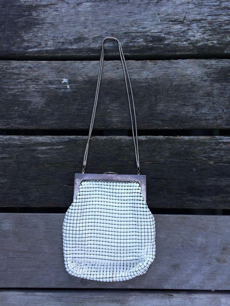 White Oroton Glomesh Bag