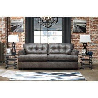 Shop for Signature Design by Ashley Inmon Charcoal Queen Sofa Sleeper  Get  free shipping at. Best 25  Ashley furniture online ideas on Pinterest   Sleigh beds