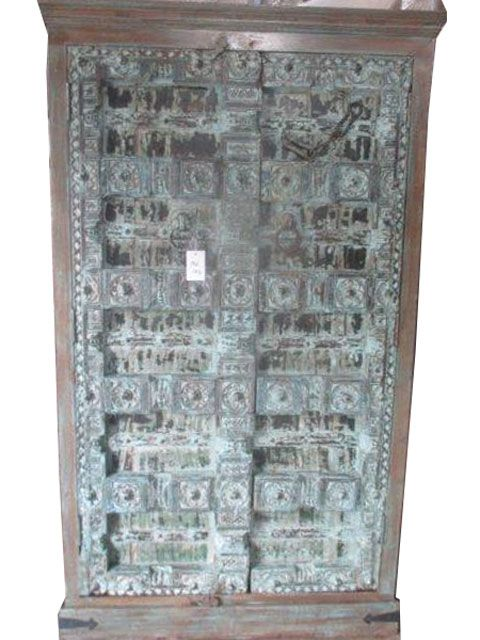 antique cabinet doors. make your home a little more moroccan style with our stunning hand carved antique armoire.this four shelf cabinet opens two intricately doors e