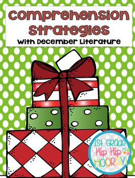 Teaching comprehension strategies using December literature is filled with activities to support and enrich this standard.The books used are:Dream Snow...Eric CarleMooseltoe...Margie PalatiniBear Waits Up for Christmas...Karma WilsonSnowman Christmas...Caralyn Buehner**These books can also be found as read aloud stories online.The packet contains:Strategies listed for postingGraphic Organizers and ActivitiesDream Snow...Predict, Visualize, SequenceMooseltoe...Compare/Contrast, Summarize…