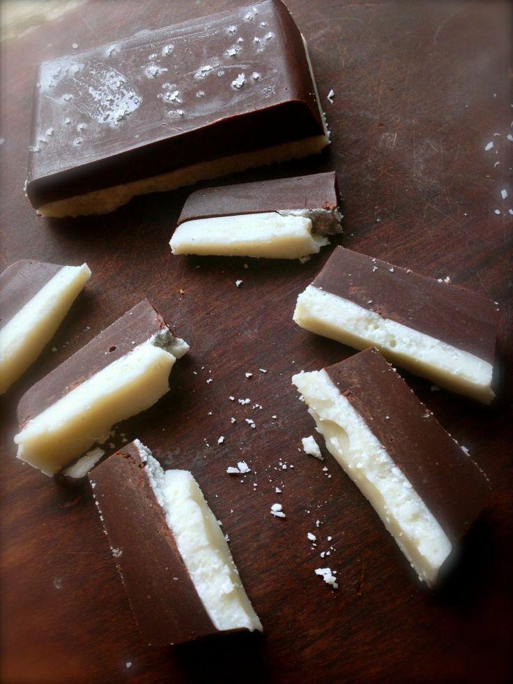 Double decker chocolate bar - Alexx Stuart