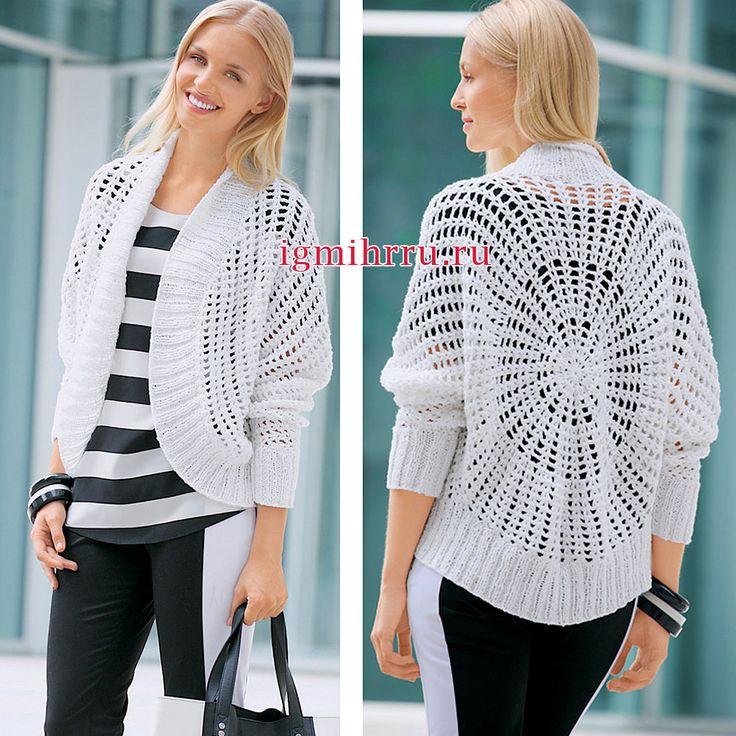 107 best chaquetas redondas crochet images on Pinterest | Chaquetas ...