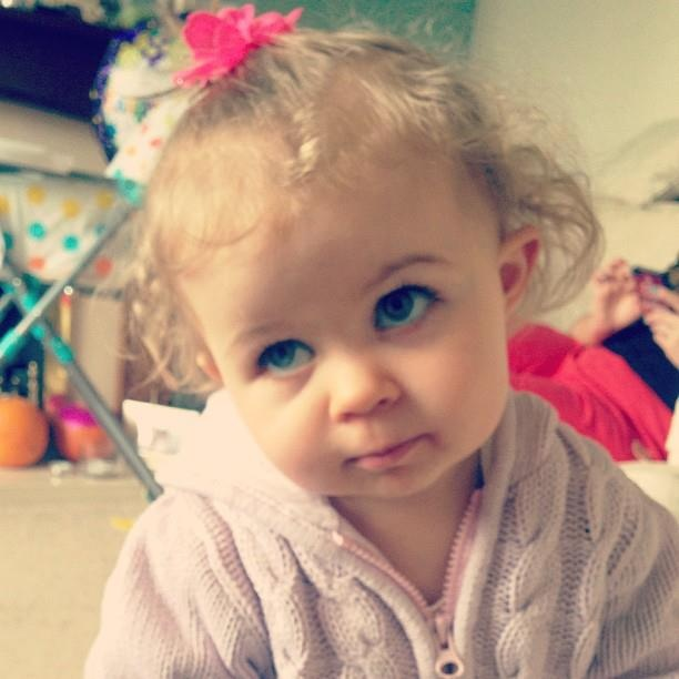 How cute is Baby Glitter awwww!