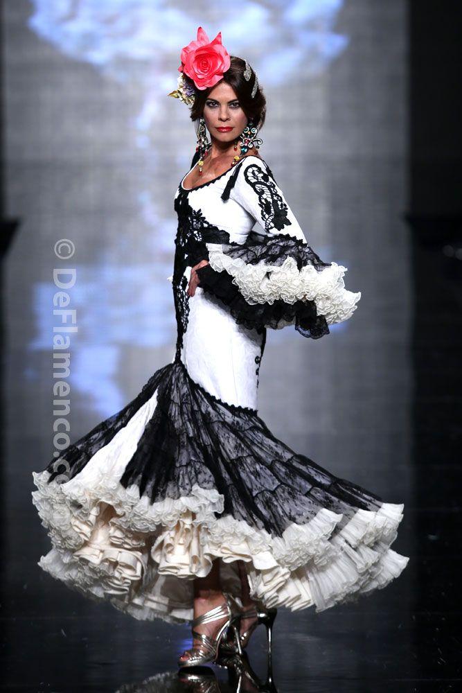 Fotografías Moda Flamenca - Simof 2014 - Alicia Cáceres 'Embrujo del sur' Simof 2014 - Foto 01