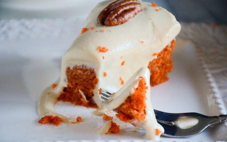 Double Decker Carrot Cake [Vegan, Gluten-Free]