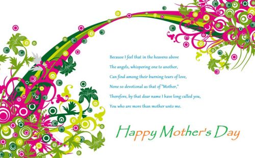 SMS Happy Mothers Day Wishes MSG Greetings Whatsapp 2015