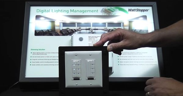 Wattstopper Digital Lighting Management System #EnergyManagementLighting #FacilityManagement #Interiors