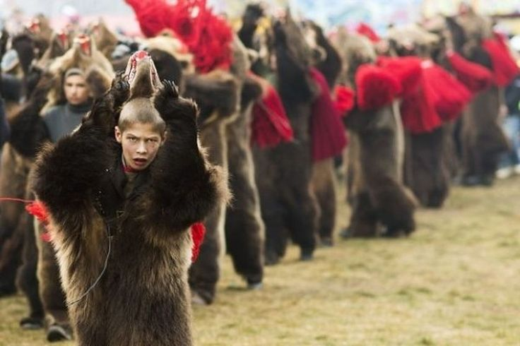 Romanian boy in bear costume wins 2015 National Geographic Traveller UK's photo competition