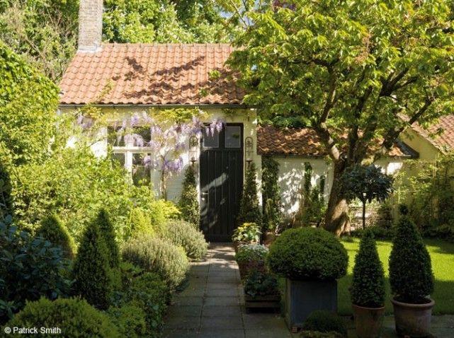 94 best images about amenagement fond du jardin on pinterest - Jardin devant maison ...