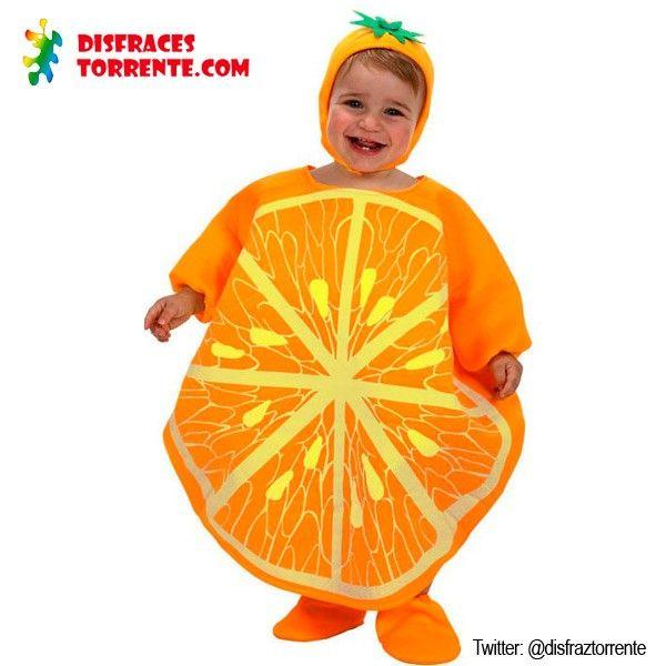 Disfraz de naranja bebé