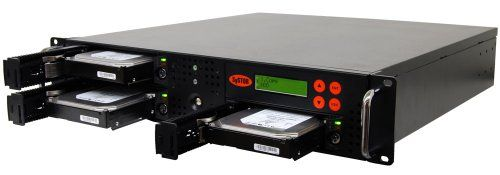 SySTOR 1:2 SATA Hard Disk Drive / Solid State Drive (HDD/SSD) Rackmount Clone Duplicator/Sanitizer (SYS102RMHDD)