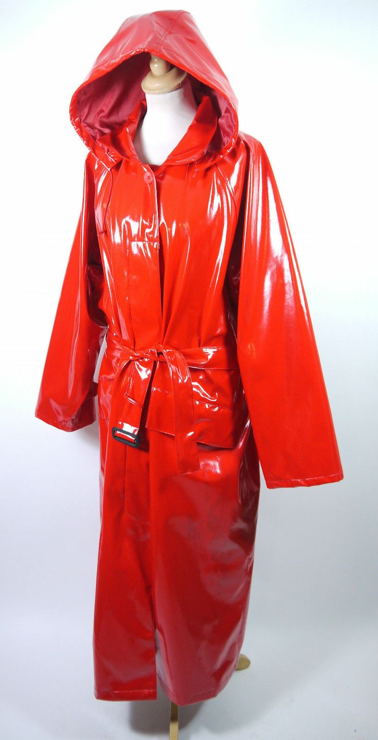 Pictures shiny raincoat