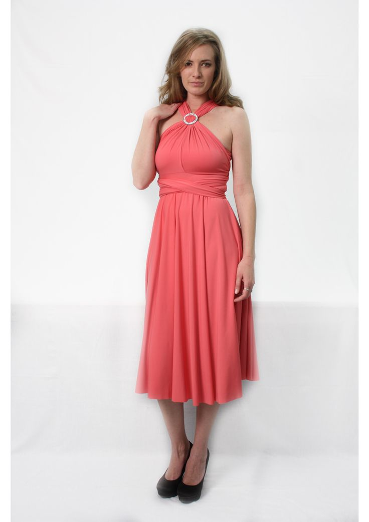 Cocktail length Infinity dresses R699.00  http://infinity-dress.co.za/infinity-dress-south-africa/cocktail-infinity-dress