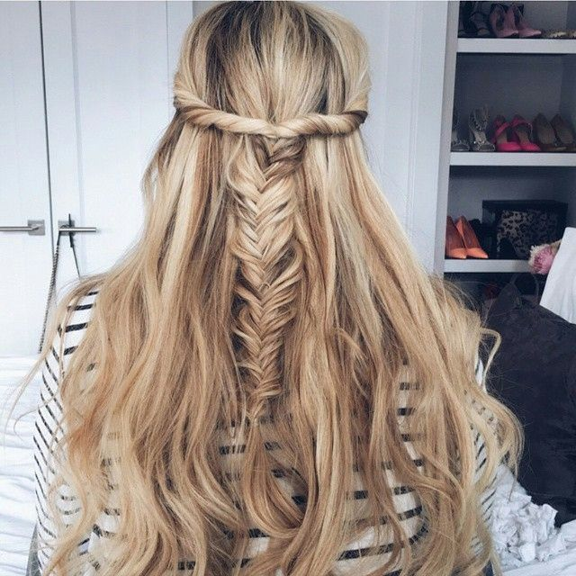 FISHTAIL BRAID! Get the secret to luscious, glossy, healthy hair and other health & beauty tips from Body meet Bride Read more → lovewc.me/BodymeetBride #braids  Don't forget to sign up for a free week trial!