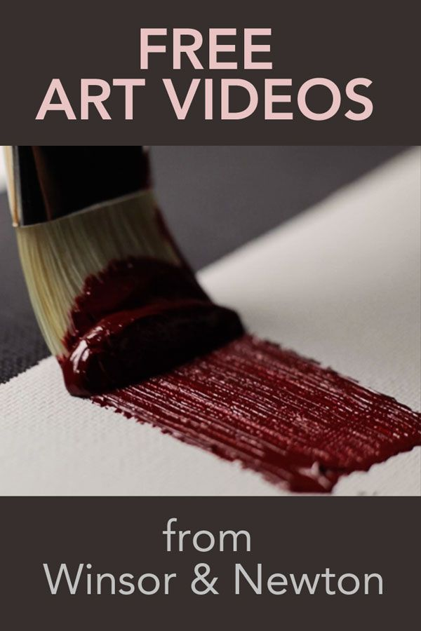 Masterclass (free!) Art Videos   Understand Paint and Improve Your Art - Cloth Paper Scissors #painting #art #WinsorNewton