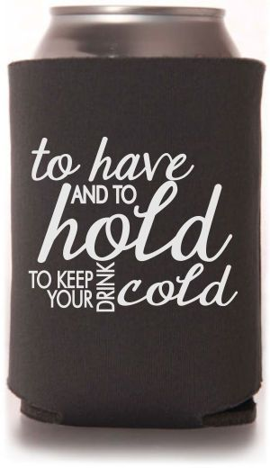 TWC-6806 One of our best selling #wedding #koozie templates. A great #weddingfavor from Totally Wedding Koozies