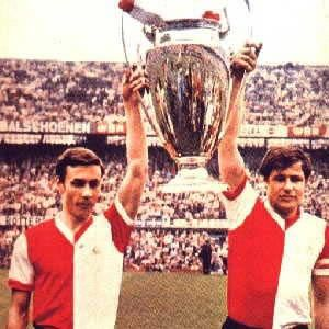 FC Feyenoord win the European Cup beating Glasgow Celtic