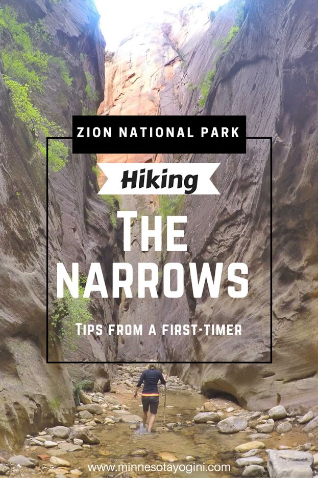 Hiking The Narrows in Zion National Park - Tips From a First-Timer. Epic hike, post includes photography, stories, tips on gear, and smiles!