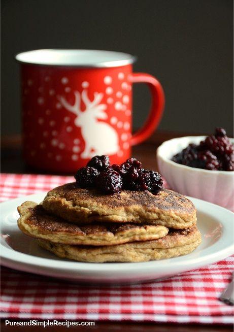 Flax Jacks Pancakes (paleo, starch-free, keto, low carb)