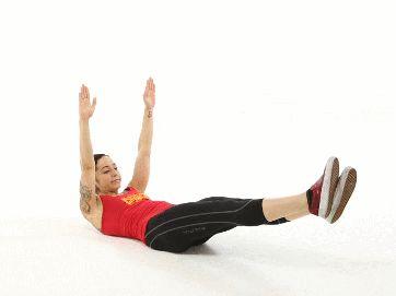 ralel açılır ve parmak uçları birleştirilerek bacaklar ve vücudun üst k…