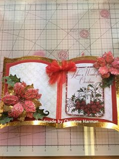Kraftycards by Chris: Christmas Bookatrix