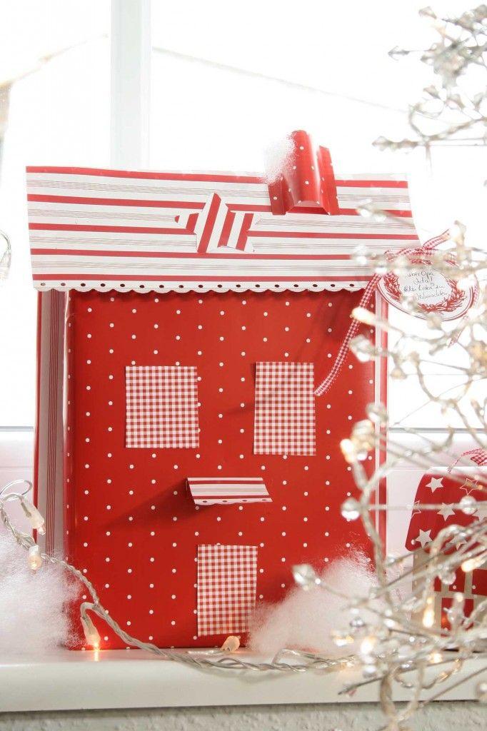 DIY Dezember acufactum Weihnachtsdorf Paket rot