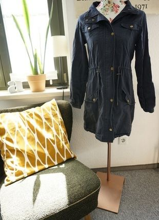 Kaufe meinen Artikel bei #Kleiderkreisel http://www.kleiderkreisel.de/damenmode/halblange-mantel/126654252-blauer-parka-mintberry-xss