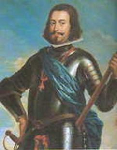 D. João IV (1604-1656) foi o vigésimo primeiro Rei de Portugal, e o primeiro da quarta dinastia, fundador da dinastia de Bragança. Participou na revolta portuguesa contra o domínio espanhol, pondo fim ao reinado português de D. Filipe III. Foi aclamado rei pelo povo a 1 de dezembro de 1640.