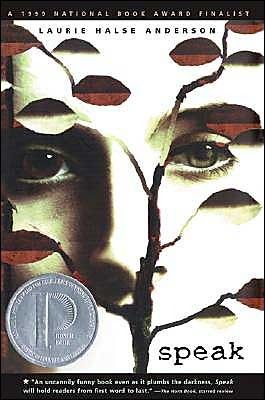 Speak by Laurie Halse Anderson.      A Printz Honor book, National Book Award Finalist, and one that's made the top 100 on the ALA Banned Books list in the past 10 years.     A wonderful read for teens w/ a postive message. Deals with sexual assault and the pain/depression that accompanies it, but ultimately, teaches girls to stand up for themselves.