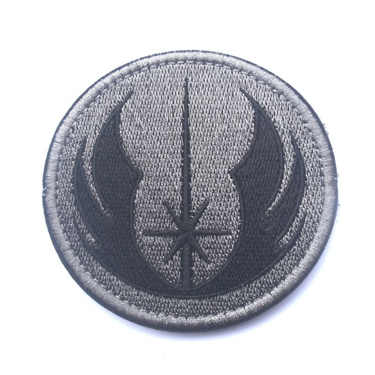 30 PCS Star Wars Jedi Order Galactic Republic Morale Patch Tactical Gear Tactical Embroidered Patches Badges Fabric Stickers #Affiliate
