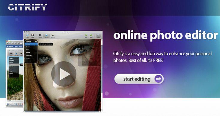 Citrify, un útil y sencillo editor de fotos en línea  @Cdperiodismo