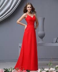 bridesmaid dresses red  cute and simple