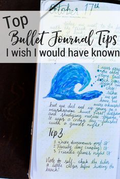Top Bullet Journal Tips I Wish I Would Have Known