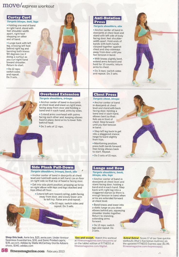 Toning Exercises Resistance Band Arm Toning Exercises