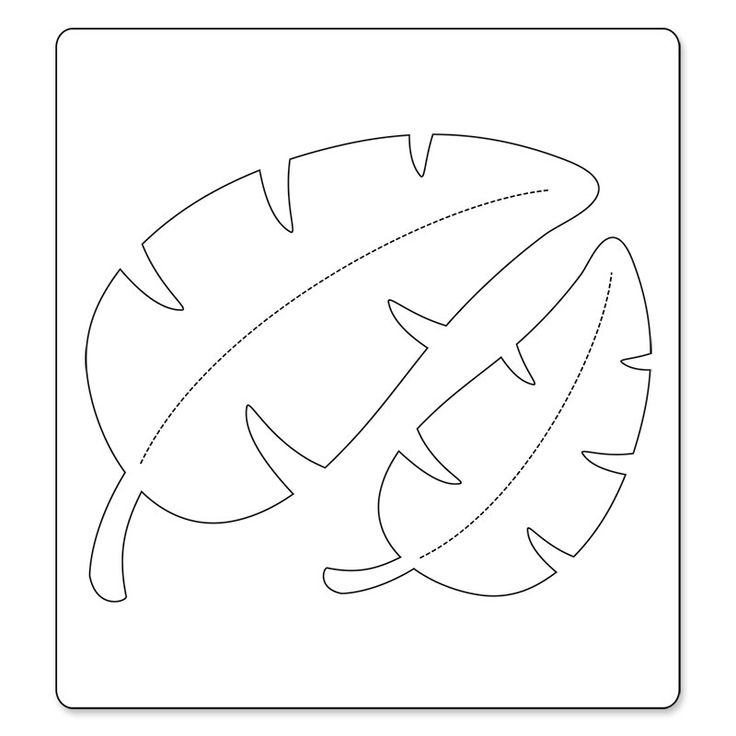 Jungle Leaf Coloring Pages Coloring Pages