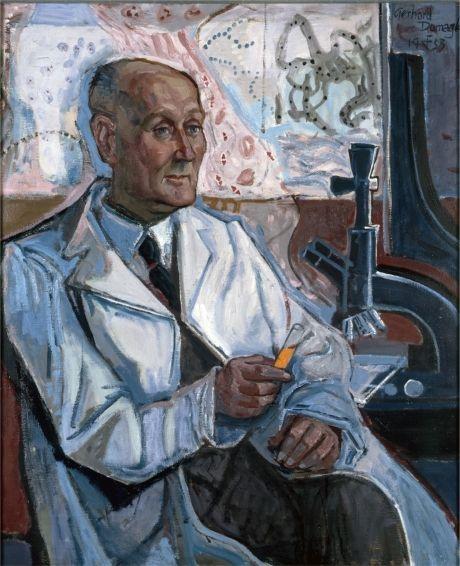 Otto Dix - Bildnis Professor Gerhard Domagk