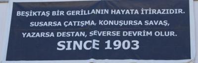 Beşiktaş bir gerillanın hayata itirazıdır! #carsi #besiktas #çarşı #beşiktaş