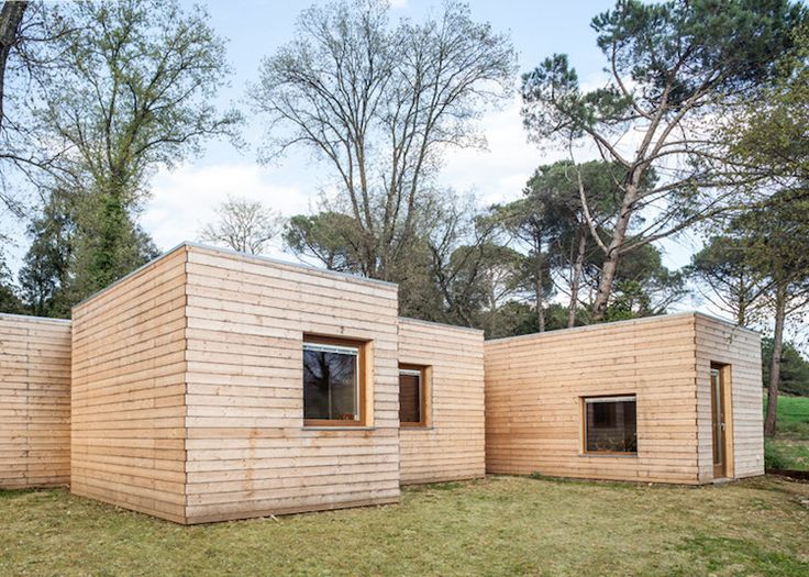 timber cladding modern houses and lodges