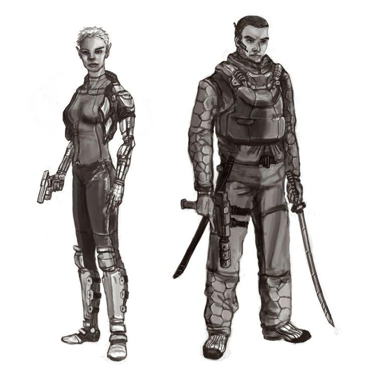 John McKenna Illustration: Shadowrun on My Mind....