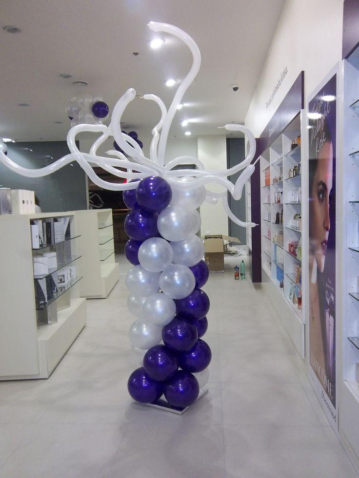 Balónový stĺp kombinovaný
