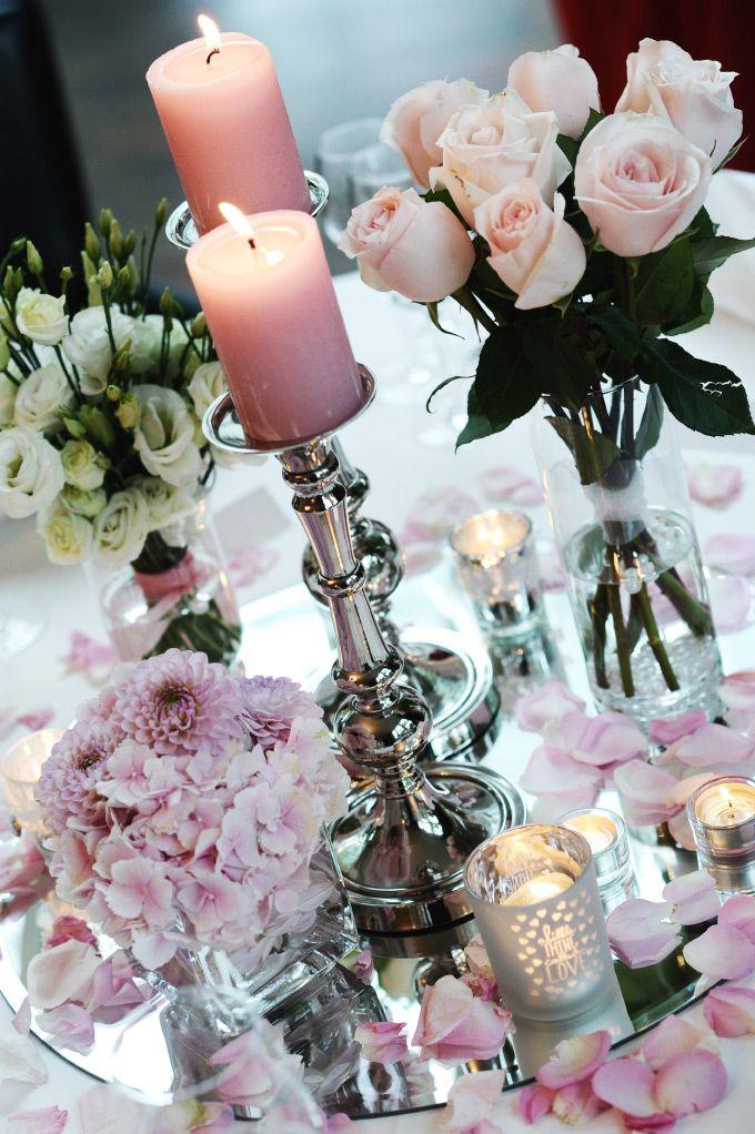 Hochzeits-Tischdeko