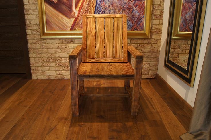 Throne Cottage Wood Armchair • WOO Design