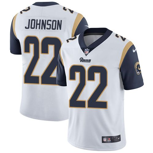 sports shoes 3aea3 5fa39 Nike Rams #22 Trumaine Johnson White Youth Stitched NFL ...